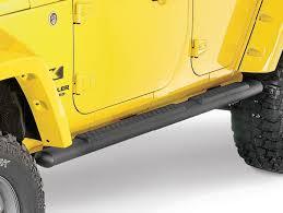 mopar side steps for jeep wrangler unlimited mopar tubular side steps in satin black for 07 12 jeep wrangler