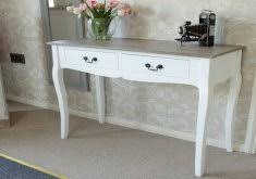 superb shabby chic console table white home accent white wood