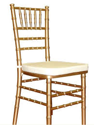 renting chairs for a wedding muted gold chivari chairs for the wedding chiavari