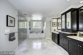 Statuario Marble Bathroom Contemporary Master Bathroom With Drop In Bathtub U0026 Undermount