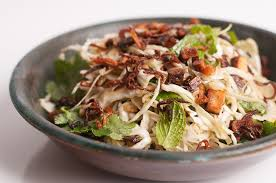 kosher cookbook cabbage and herb salad recipe herbivoracious