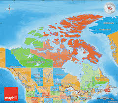 blank political map of canada political map of canada