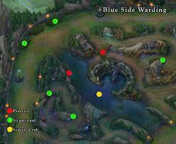 Top Spot Maps Warding 101 Guide To Top Lane Gamer Sensei League Of Legends
