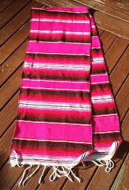 Mexican Table Runner Mexican Serape Table Runner Home Table Decoration