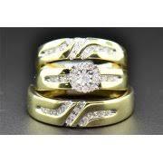 Wedding Ring Trio Sets by Trio Wedding Sets