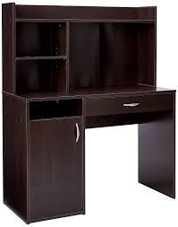 Computer Desk With Hutch Cherry by Amazon Com Sauder Beginnings Desk With Hutch Cinnamon Cherry