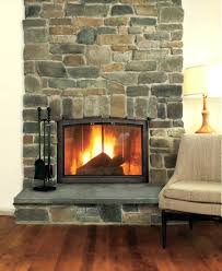 stone fireplace facing kits beautiful ideas faced photos electric