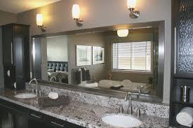 bathrooms design how to frame bathroom mirror home design