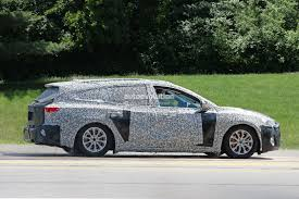 mitsubishi expander interior spyshots 2019 ford focus wagon prototype reveals longer rear