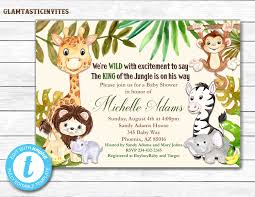 monkey invitations baby shower jungle baby shower invitation baby shower invitation baby shower