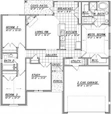 2 bedroom house with open awesome single story house plans 2