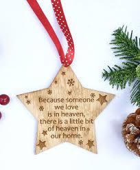 memorial christmas decoration in loving memory christmas ornament