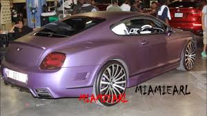 bentley forgiato matte purple wrapped bentley gt at forgiato fest 2013 youtube