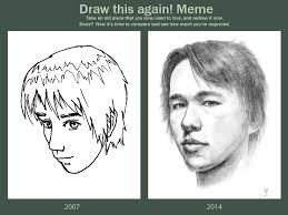 How To Draw Meme - draw this again meme self portrait by hunternif on deviantart