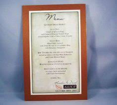 Diy Wedding Menu Cards Life U0027s Tidbits Blog Archive Diy Wedding Menu Cards Wedding