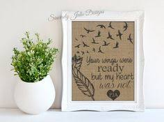 Condolence Gifts Condolence Gift Sympathy Gift Memorial Gift Rip By Burlapwillow