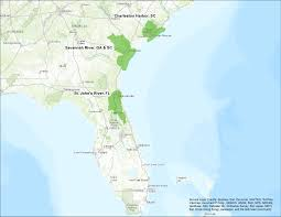 Georgia And Florida Map by Request For Proposals Coastal Watershed Resilience Assessments