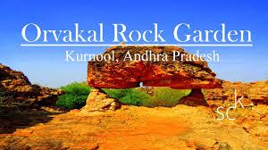 rock formations of orvakal rock garden in kurnool andhra pradesh
