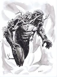 swamp thing sketch by brian level u2013 brian level