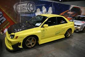 yellow subaru wrx modified subaru wrx 1 madwhips