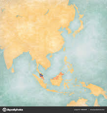 Map Of Eastern Asia by Map Of East Asia Malaysia U2014 Stock Photo Tindo 148006507