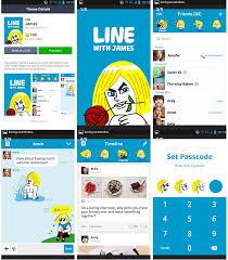 theme line blue สต กเกอร ไลน ถ กท ส ด line sticker shop line theme
