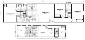 3 bedroom 2 bathroom singlewide homes