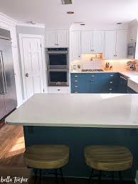 white and taupe lower kitchen cabinets blue and white two toned kitchen cabinets tucker