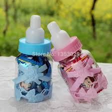 baby bottle favors aliexpress buy free shipping 12pcs baby candy box bottle