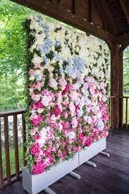 wedding vow backdrop wedding ceremony flower wall http itgirlweddings write