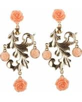 Rose Gold Chandelier Earrings Amazing Gold Chandelier Earrings Deals