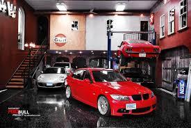 large garages race car garage u2013 garage door decoration