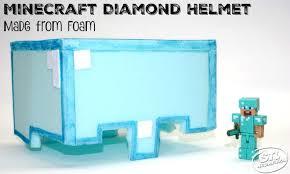 diy minecraft play helmet from soft foam free printable