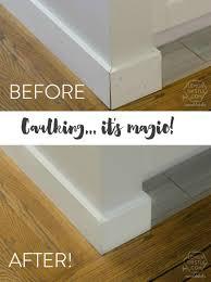 Laminate Flooring Where To Start Caulking Baseboards Laminate Flooring