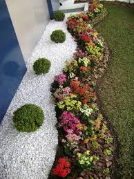 follow these 37 ideas for having simple rock garden bharata design