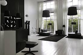 Black Furniture Living Room Interior The And Happening Black U0026 White Statement Decor