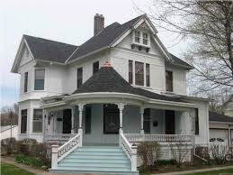 colonial farmhouse with wrap around porch wrap around adobe homes country front porch decorating ideas