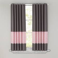 Pink And Grey Curtains New School Pink Stripe 96 Curtain In Clearance Textiles