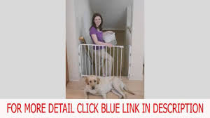 Evenflo Stair Gate by Regalo Top Of Stair Gate White Deal Youtube