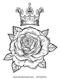 new school tattoo drawings black and white blackwork tattoo flash rose rose flower stock photo photo vector