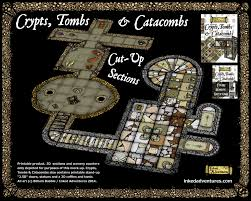 crypts tombs u0026 catacombs cut up sections inked adventures