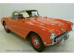 vintage corvette for sale 1957 chevrolet corvette for sale classiccars com cc 838078