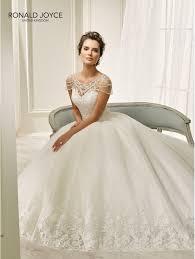 wedding dress ivory ronald joyce 69205 beautiful gown wedding dress ivory
