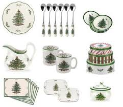 spode tree crockery tableware cutlery serving dishes