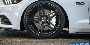 Matte Black Ford Mustang Ford Mustang Gt Caracas Xo Luxury Wheels