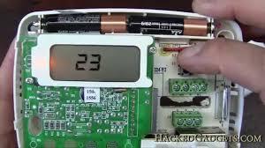 thermostat remote temperature sensor hack youtube