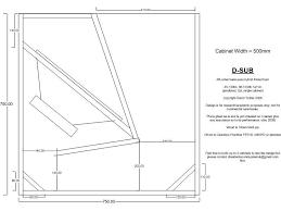 subwoofer cabinet plans mf cabinets