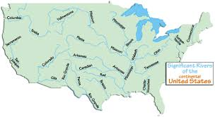 map usa rivers dafi1637 usa map with states mountains and rivers