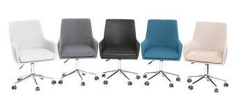 fauteuil de bureau design fauteuil de bureau design tissu gris anthracite shana miliboo