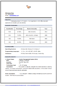 download best resume format for mca freshers hiring ghostwriters greencube global area of interest in resume